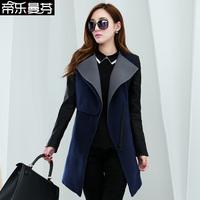 ON Sale promotion Female wool coat medium-long woolen outerwear fashion autumn and winter woolen autumn women's 2013  Cheap HOT