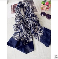 (Min Order $10 +Gift)+Free Shipping! The autumn and winter of 2013 explosion models and popular Paisley Pattern Scarf   E025