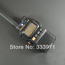 free shipping 2pcs/1lot BAOFENG UV-3R + UV 3R mini two way radio dual band dual display walkie talkie