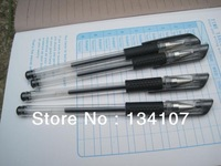 Special prices,0.5mm  gel-ink   pen,  office necessary, 10 pcs Black pen