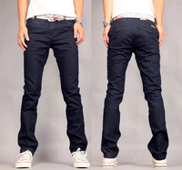 FREE SHIPPING! 2013 new hot men's jeans high quality slim fit trousers zipper style classic design jeans (LK6280) W28-38