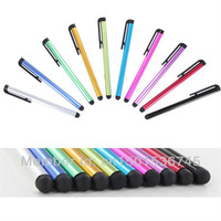 Free shipping!! 10pcs Universal Capacitive Stylus Touch Pen for iPhone/iPad Tablet PC Cellphone