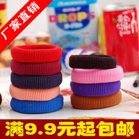 6119 accessories multicolour thread elastic broadside hair rope headband bow hair accessory