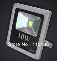 IP66 COB 10W Thin LED Flood Light Die-casting Aluminum Taiwan Epistar LED Chip Free Shipping