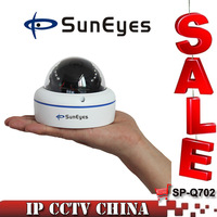 SunEyes  ONVIF 1.0MP 1280*720P IP Camera Dome IR Night Vision Mini Size P2P PLug Play SP-Q702