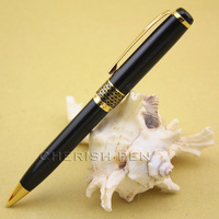 2013New baoer 68 frosted black and golden roller ball/ballpoint/ball point/gift/fine/luxury/rollerball pen free shipping