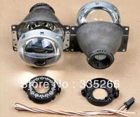 High Quality AES GK Q5 3.0inches HID bi-xenon light headlight projector,car lamp lens, cheap EMS shipping