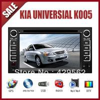 kia universial  CAR GPS DVD Player HD Screen with GPS IPOD TV AM/FM Bluetooth