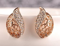 2013 Autumn Winter Women Fashion Accessories Delicate Cutout Stud Earring Min Mix Order USD $10