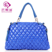 2013 summer rivet one shoulder cross-body fashion women's handbag down bag space bag portable bubble bag