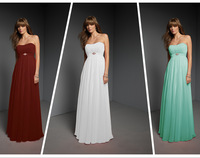 New Desgin Pleat Sexy Sweetheart Prom Dress Adult  Floor-Length Bridesmaid Dresses