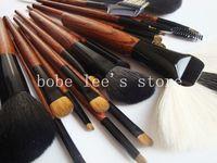 Free Shipping 19 PCS  PUPA  Mink  Makeup Brush Full Set Professional Makeup Tools# P019