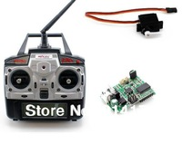 3pcs MJX F45 F645 2.4G 4ch rc helicopter spare parts kit, 2.4G radio +2.4G new receiver/pcb board/main board + servos