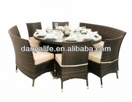 Achetez en gros chaise en osier ronde en ligne des for Set de table en osier
