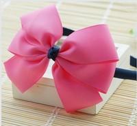 New 2014 Children hair accessories hair accessory baby headband  female child girls ribbon hair bands hair pin Free shipping