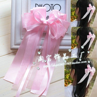 new 2013 children hai accessories,pink butterfly,hairpins,Korean hair bow,hair ribbons flower bow princess clip Free shipping