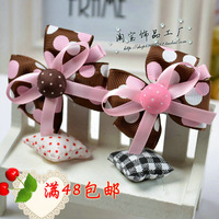 Baby child hair accessory hair accessory fabric button flower headband hair rope rubber band hair rope hairpin hair bands