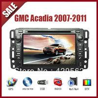 GMC Acadia 2007-2011 CAR GPS DVD Player HD Screen with GPS IPOD TV AM/FM Bluetooth