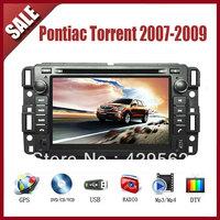 Pontiac Torrent 2007-2009 CAR GPS DVD Player HD Screen with GPS IPOD TV AM/FM Bluetooth