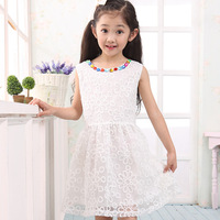 Children's clothing female child summer 2013 child one-piece dress female child princess dress tulle dress eucken