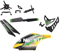 WL Toys  V912  2.4G R/C helicopter spare parts head cover+main blade +tail blade ect  +Swashplate combination+Vertical tail