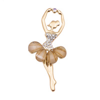 Brooch female ballet girl brooch fashion quality brooch elegant