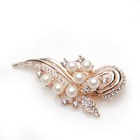 33 accessories fashion pearl brooch rhinestone brooch female brooch white collar brooch 355793
