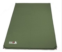 Broadened thickening double automatic inflatable tent pad cushion camping mat outdoor moisture-proof pad marine