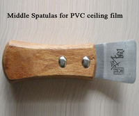Middle Spatula for installing PVC stretch ceiling film
