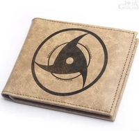Free shipping    Naruto logo Men's cartoon wallet