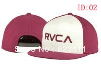 free shipping 2013 new street fashion rvca hat Baseball hats/Caps hip-hop snapback hats