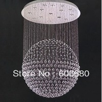 Hotsell 2013 Modern Luxury Crystal Chandelier, D120cm * H350cm With 18LED Lights