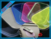 5PCS / lot Five Colors Silicone Gel Car Mat Dashboard Phone Sticky Pad Holder Anti-Slip Non-slip For Phone PDA Free shipping