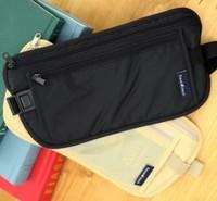 Travel Waist Pack Purse Storage Bag Money Security Purse Coin Cards Passport Waist Belt Tickets Bag Pouch Waterproof Wholesale