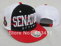 Senators Snapback hats cheap new fashion baseball caps Ice Hockey sports hat for men and women Free Shipping
