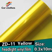 Guarantee 100%  0.3X10m  Decoration Accessories Vinyl Wrap Car Headlight