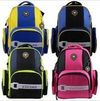 Nobility school bag primary school students double-shoulder child school bag slimming backpack spinal care backpack