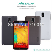 for Samsung galaxy note 3, Nillkin Super frosted shell back cover cases for Galaxy note 3, with protector freeship