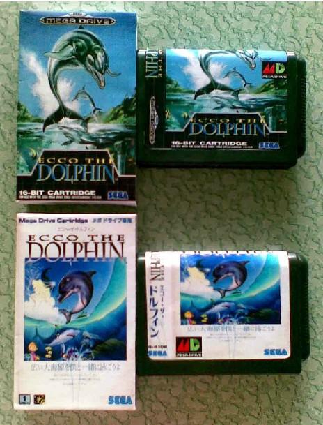 карточная игра SEGA md: ecco Дельфин