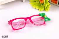 Kid spectacle Frames, 10pcs/lot Children Eyewear, Plastic eyeglasses, Apparel Accessory,fashion adorable Free shipping YJ15