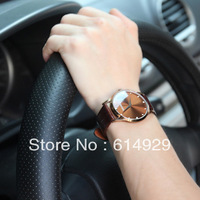Male watch brand watchs Belt ultra-thin two men watch han edition tide restoring ancient ways