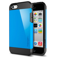 Newest SLIM ARMOR SPIGEN SGP Case For iPhone 5C Hard Back Cover Luxury TPU + Plastic Free shipping