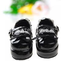 Free Shipping 1/6 BJD Doll Shoes Boots Fit Yo-SD DOD LUTS - Black
