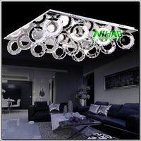 New Modern Crystal LED Ceiling Light Diamond Pendant Lamp Fixture Lighting Chandelier