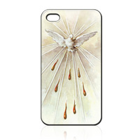 For iPhone 4 4S iphone 5 case the holy spirit ILC0558 Soft TPU phone cover Wholesale Retail