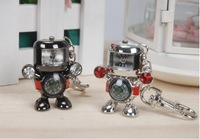 Robot clock key chains USB 2.0 Enough Memory Stick Flash pen Drive 4G-32G P72