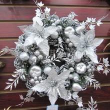christmas decoration silver price