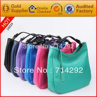 brand leather handbag women messenger bag genuine leather blue women big bag