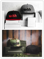 1pcs/lot Free Shipping Fashion Street headwear Wish Snapback Baseball Caps hats Snapback Adjustable OSFM