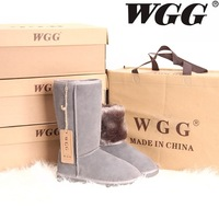 Женские ботинки 2013 women rubber duck boots japanned genuin leather short boots snow boots warm boots